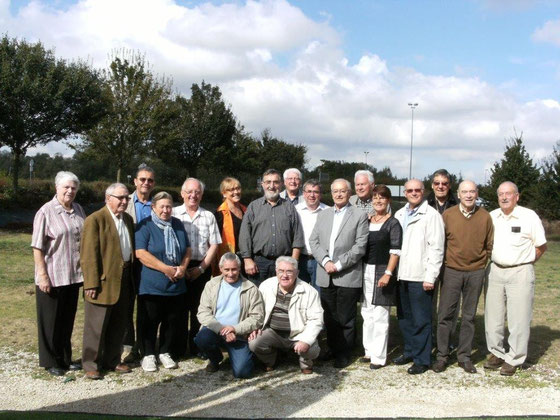 La commission au complet en septembre 2012