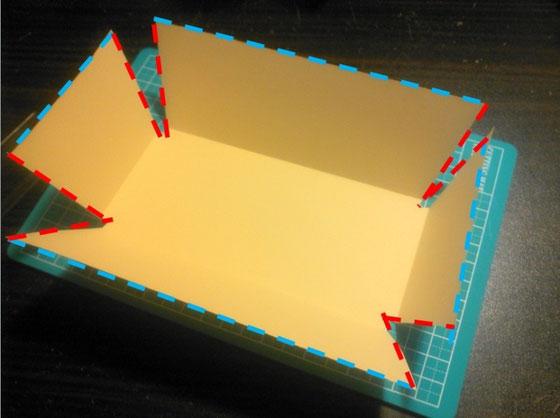 折りたたみ式トレイ_カルトナージュの作り方_03