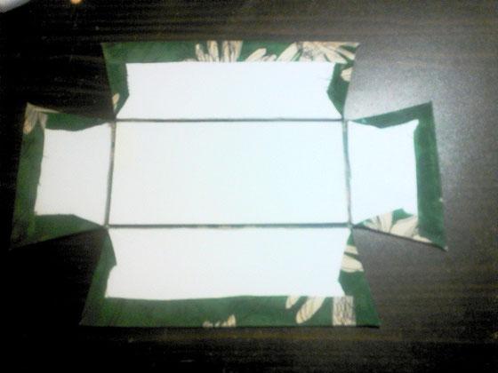 折りたたみ式トレイ/作り方_02 ©Atelier Z=Grace