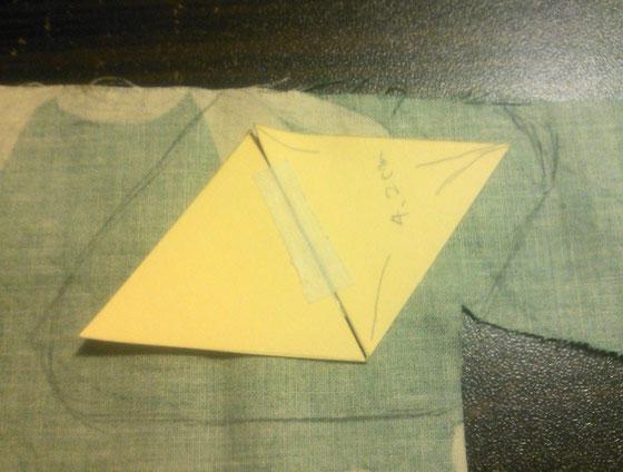 折りたたみ式トレイ_カルトナージュの作り方_04