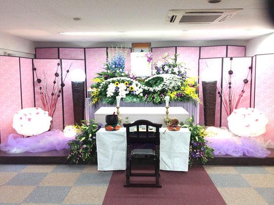 女性向け花祭壇