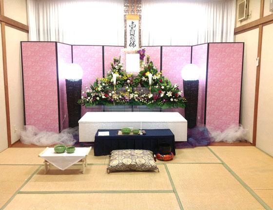 小林斎場 花祭壇