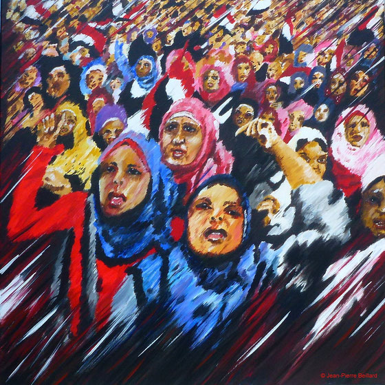 Le Cri des femmes - Femmes yéménites - Jean-Pierre Beillard