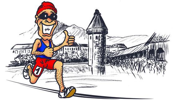StammgastNr1 beim Luzern Marathon 2013