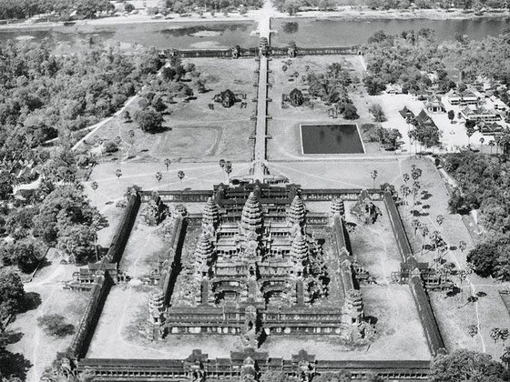 Angkor Wat, año 1938.