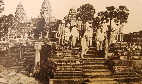 Angkor Wat, año 1921.