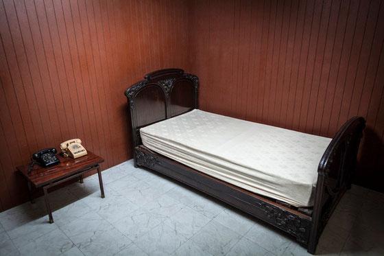 Dormitorio presidencial en el búnker