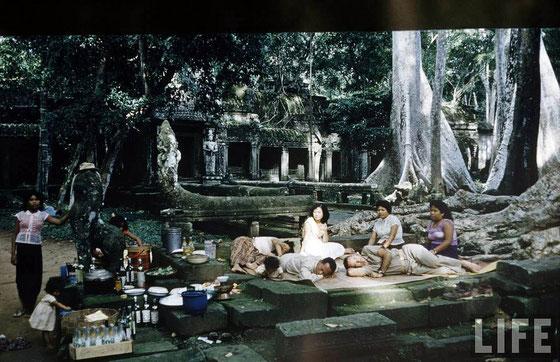 Templo Ta Prohm, año 1957