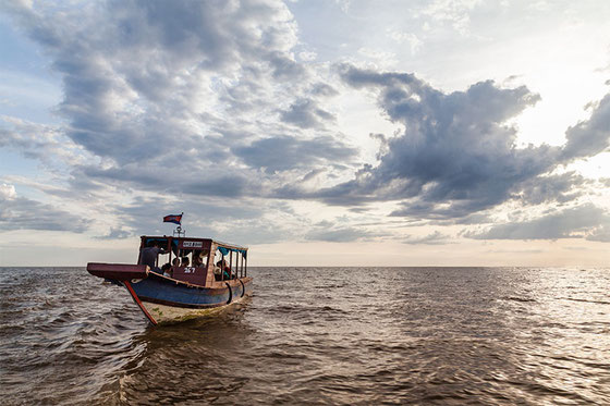 El lago Tonlé Sap, el corazón de Camboya.