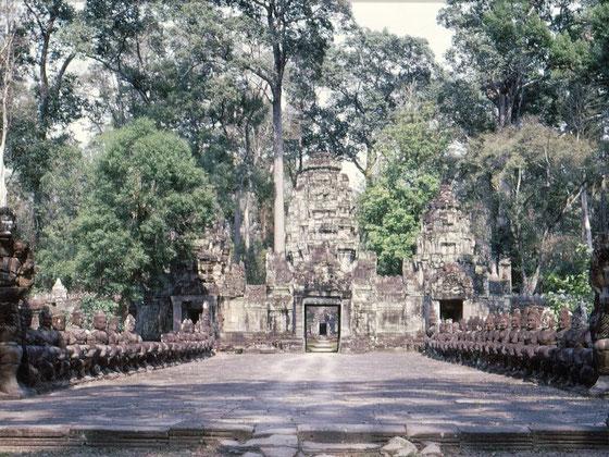 Templo Preah Khan, año 1968