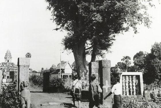 Templo Bakong, año 1948.