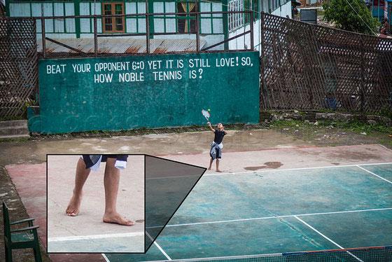 Tenis en Hakha, Chin State