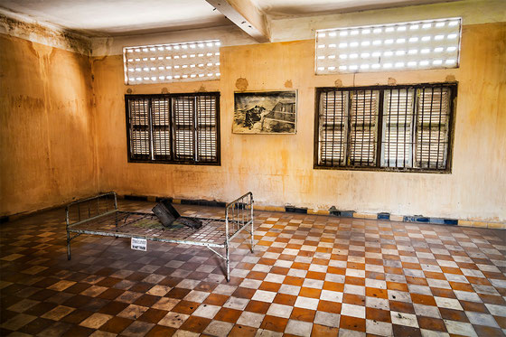 Sala de torturas,  Boque A del S21.