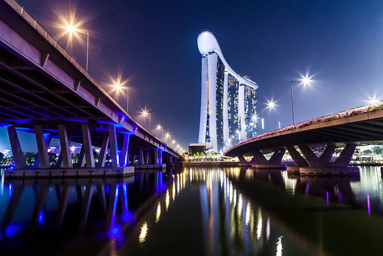 23/junio. Marina Bay Sand Hotel