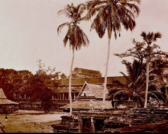 Angkor Wat, año 1966.