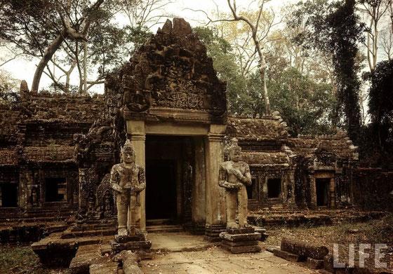 Templo Preah Kahn, año 1949