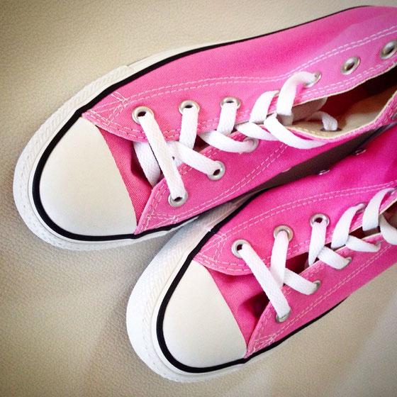 Meine neuen pinken Converse <3