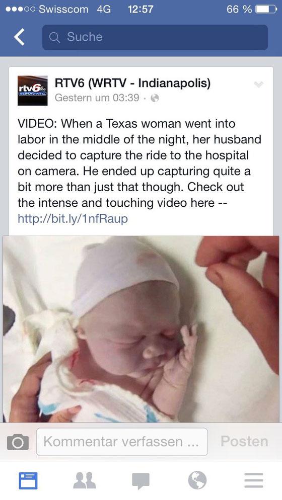 Dieses Video im Facebook gefunden und schon mehrmals gesehen, so berührend!!! (einfach Link im Internet suchen)