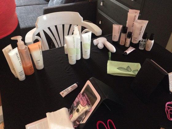 Und ich gab mein erstes Mary Kay Beauty Workshop :-)