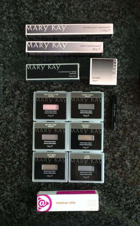 Meine neuste Mary Kay Bestellung ist angekommen <3