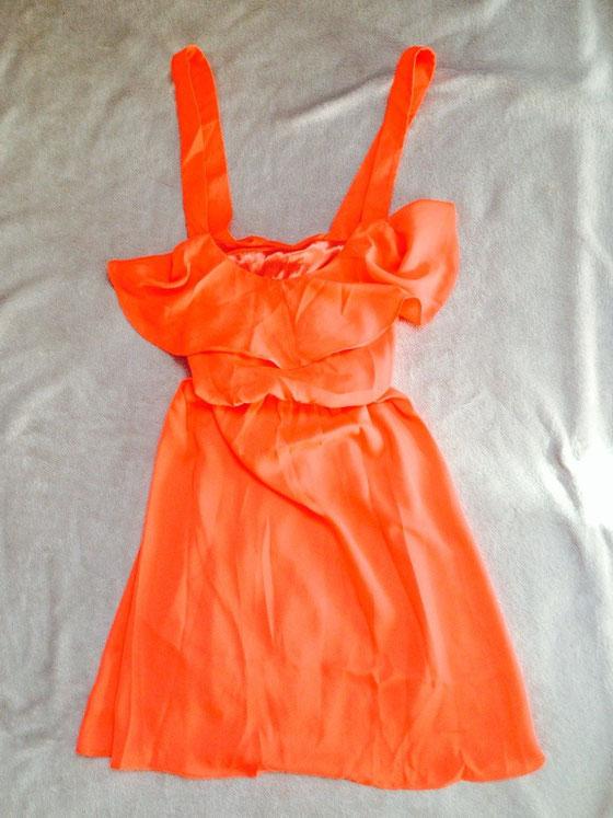 Genug Neon? :-) sieht man mich? Mit diesem Oberteil/Kleid verliert mich sicher niemand mehr...