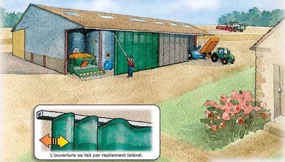 Filets Brise vent agricoles - AGRITECHNOLOGIES