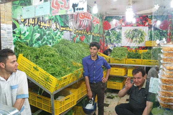 Basar von Tajrish: Kräuterhändler...