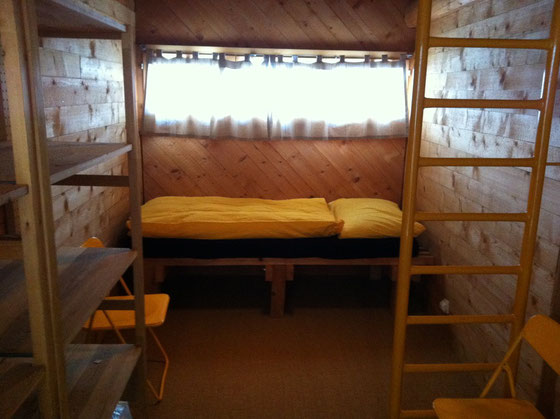 Erdgeschoss (Schlafbereich 2 - Gelbes Zimmer)