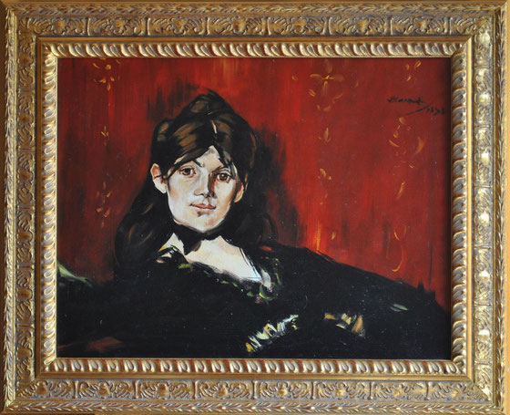 Edouard Manet Berthe Morisot 27 x 34 cm