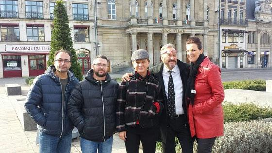 Jeane Manson et ses musiciens avec Kéty Lucy