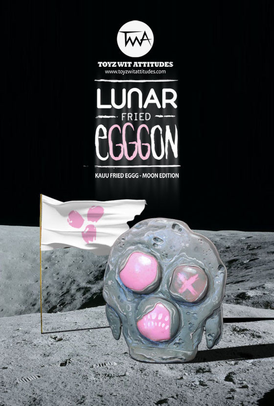 Lunar Fried Egggon, Kaiju Egg