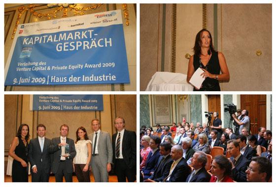 Venture Capital & Private Equity Award 2009, für größere Ansicht anklicken