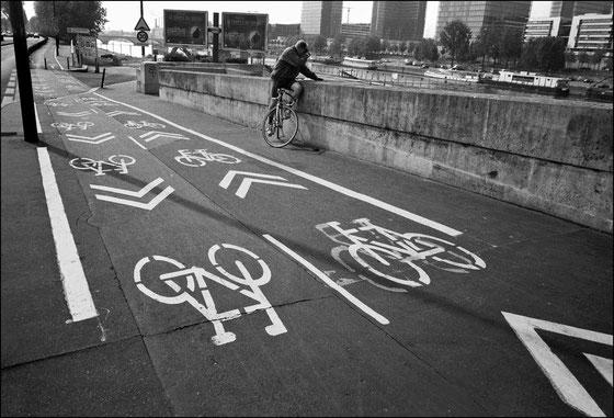Les vélos blans