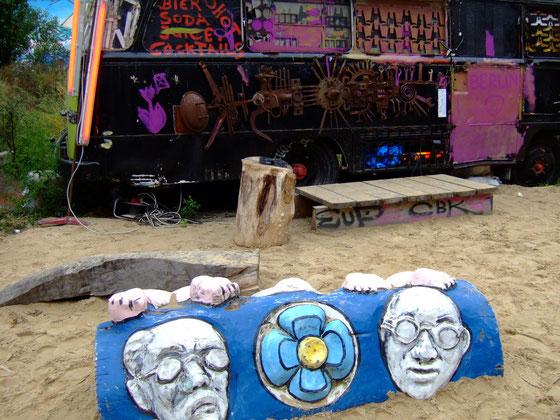 Squat d'artistes,Berlin Est,Octobre 2006
