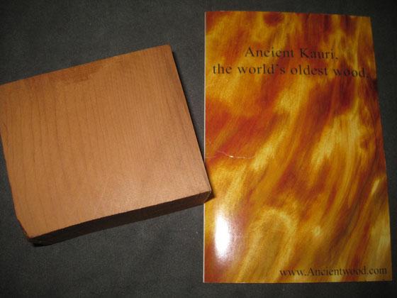 Ancient Kauri(ニュージーランド・沈木アガチス)とサプライヤーさんパンフレット