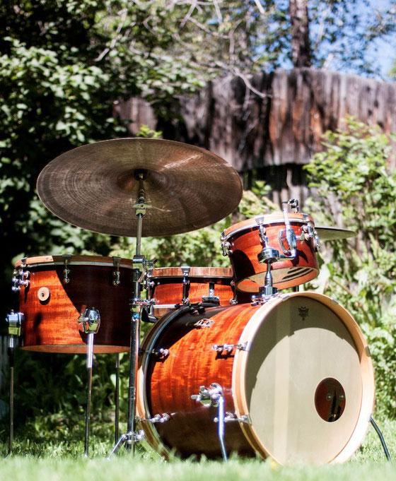 オレゴンから木フェチドラムを