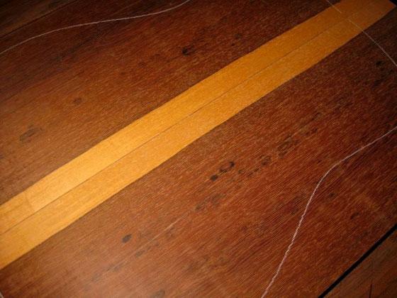 褐色のシミ杢がチャームポイント