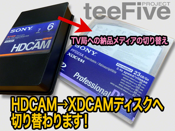 hdcam xdcam 変換 移行 プロフェッショナルディスク pfd xml metadata メタデータ クレジット ダビング