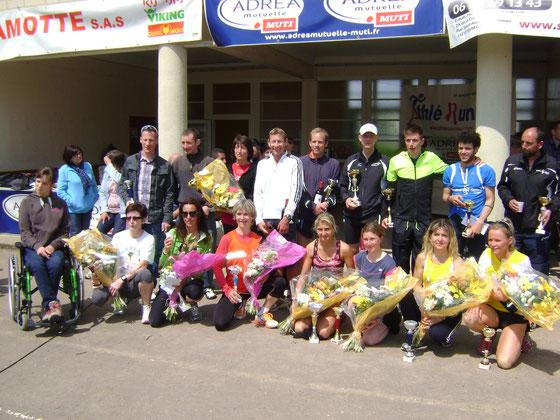Avenay - Les gagnants de la 6ème course de la Guigne