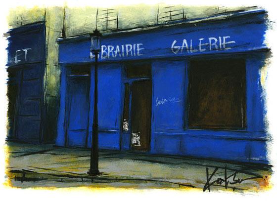 パリ6区ゲネゴー通りの本屋