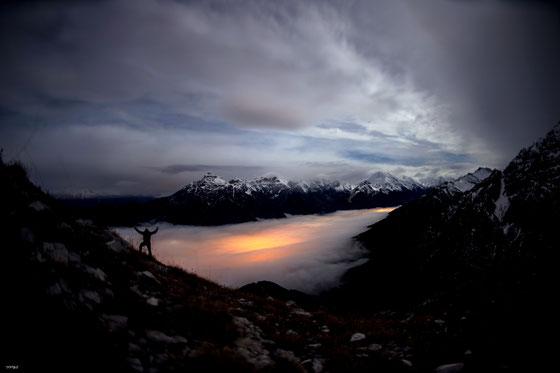 Sonnenaufgang Gschitzer Tribulaun
