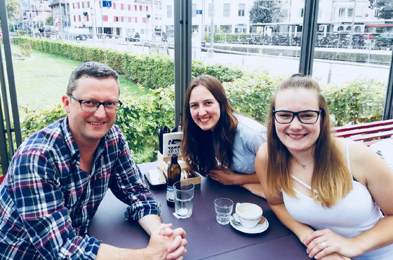 Interview mit Selina Achermann und Melanie Britschgi (Maler-Lernende) für ihre Berufsschularbeit_September 2018