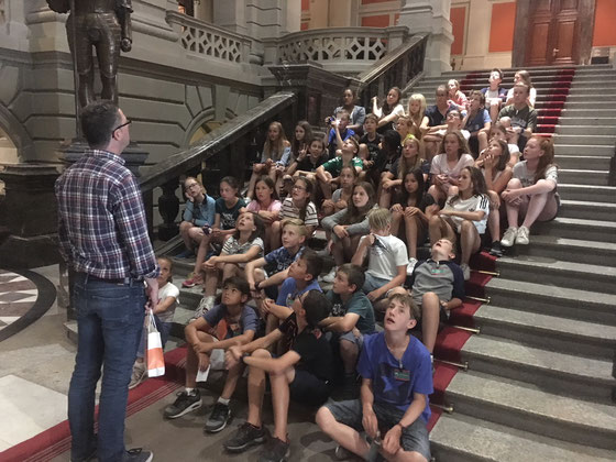 Bundeshausbesuch der 6. Klassen Primarschule Beckenried_Juni 2018