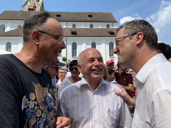 Dank Bundespräsident Ueli Maurer geht der diesjährige Bundesratsausflug auch nach Stans_Juli 2019