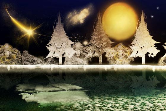 Still ruht der see zur Weihnachtszeit
