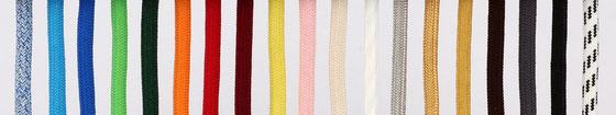 Textilkabel Zug-Pendelleitung, schwarz, braun, dunkelgrün, bordeaux, rot, orange, kiwi-grün, hellblau, gelb, rosa, elfenbein, weiß, schwarz-weiß, gold, silber