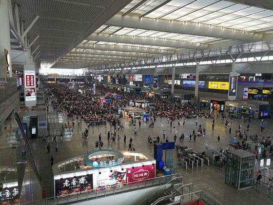 上海虹橋駅から華東師範大学へ