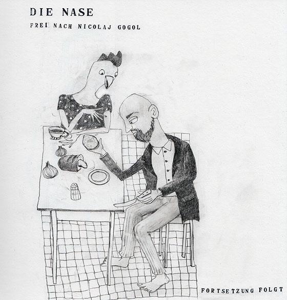 Die Nase, Nicolaj Gogol, Anna Luchs