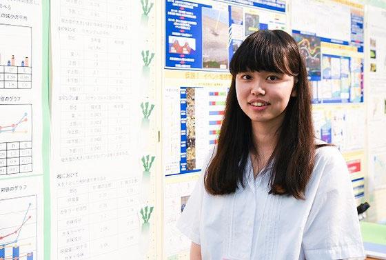 村岡怜奈さん(3年)