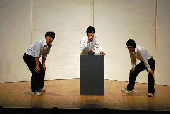 地区大会公演より 写真提供:山形地区高校演劇連盟